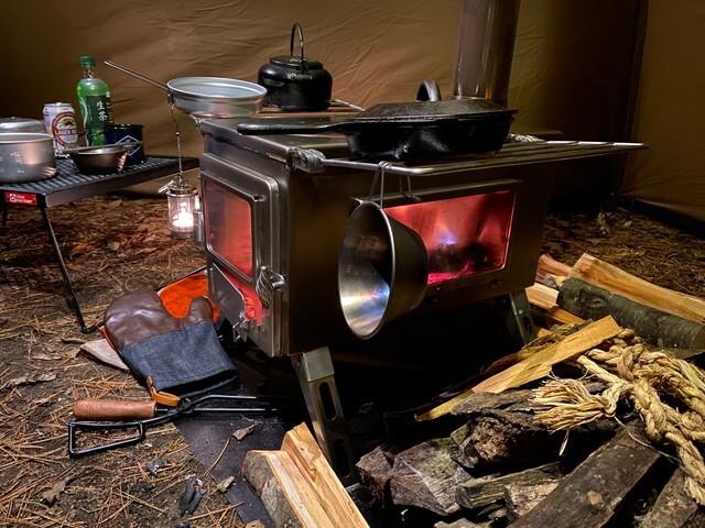 2.テント内で薪ストーブを使う際の注意点