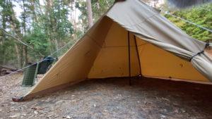 冬用のテントとして活用「サーカスTC」