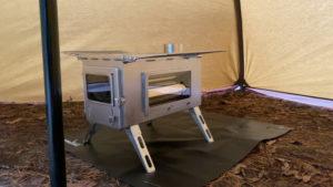 1.キャンプで使う薪ストーブの魅力3つ