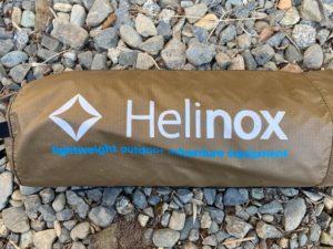 ヘリノックス コットワン:状態