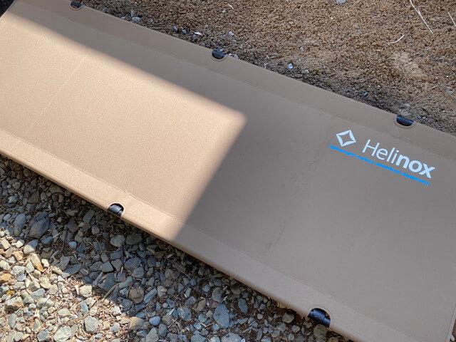 買ってよかったキャンプ道具⑤:コット- ヘリノックス コットワン