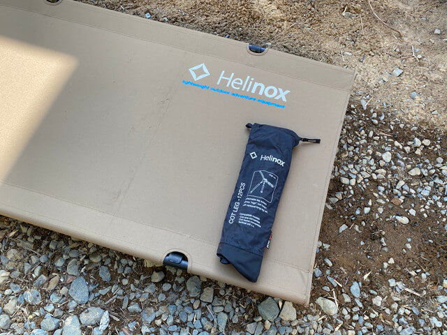 1.【レビュー】Helinox(ヘリノックス)コットワンを2年使ってみた