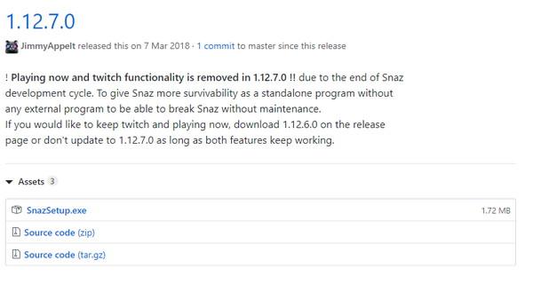 Snazの使い方1:Snazをダウンロード、インストール